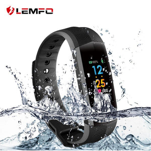 LEMFO Smart watches  With Heart Rate Tracker