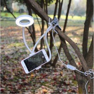 Selfie LED light for mobile phone