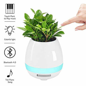 trendy-titan - led bluetooth music  plant pot - Trendy Titan -