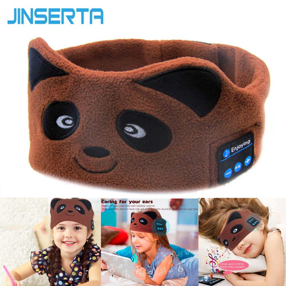 Panda Bluetooth Earphone Sleep Mask (Brown)