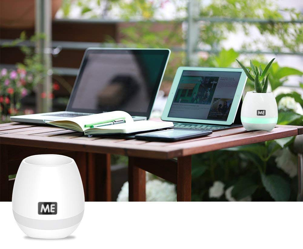 ME Music Flower Pot Bluetooth Speaker