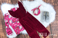 """Audrey"" Overall Set"