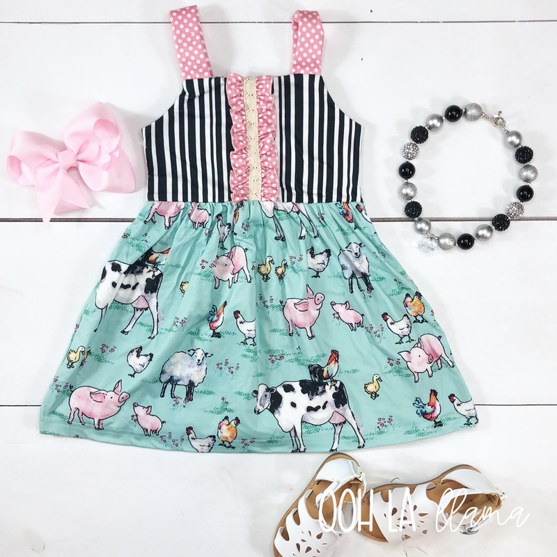 Farm Friends Dress