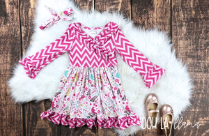 """Layla Bird"" Ruffle Dress"
