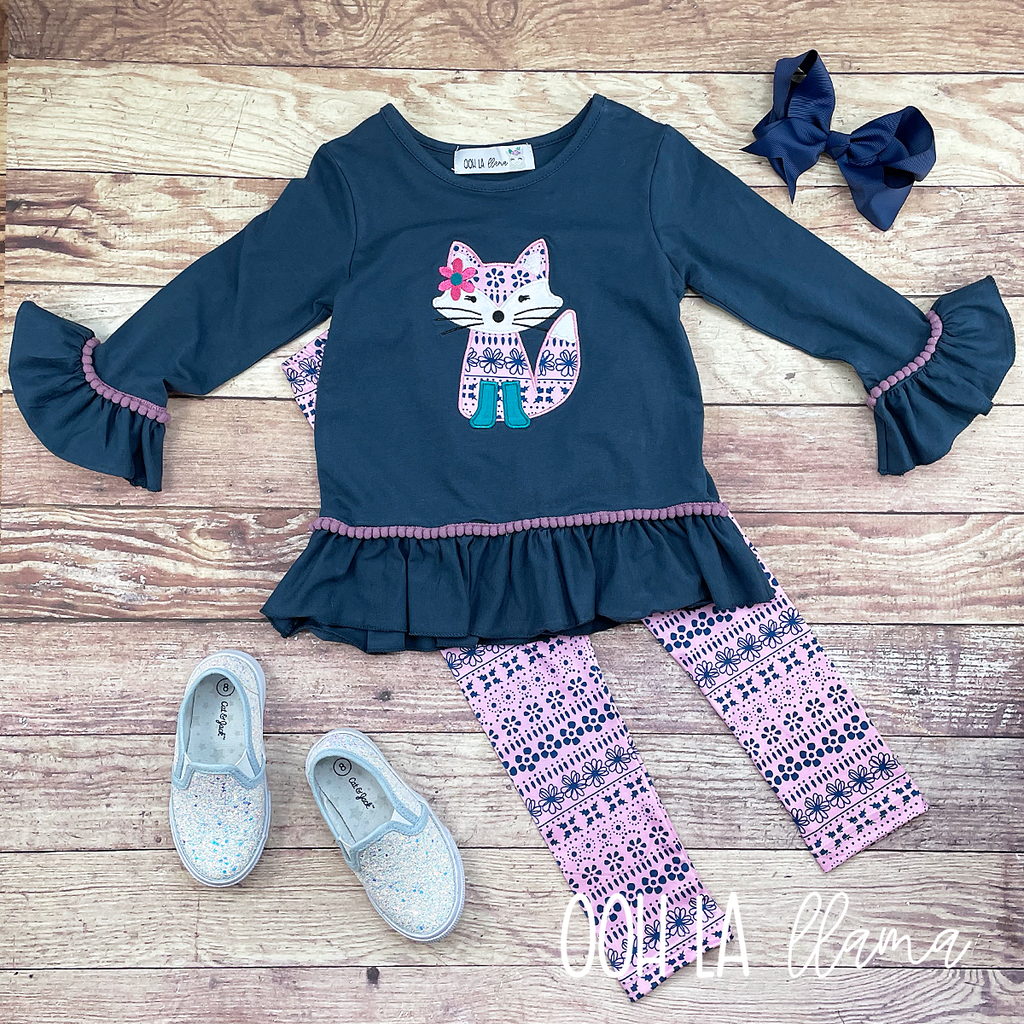 Friendly Fox Pant Set