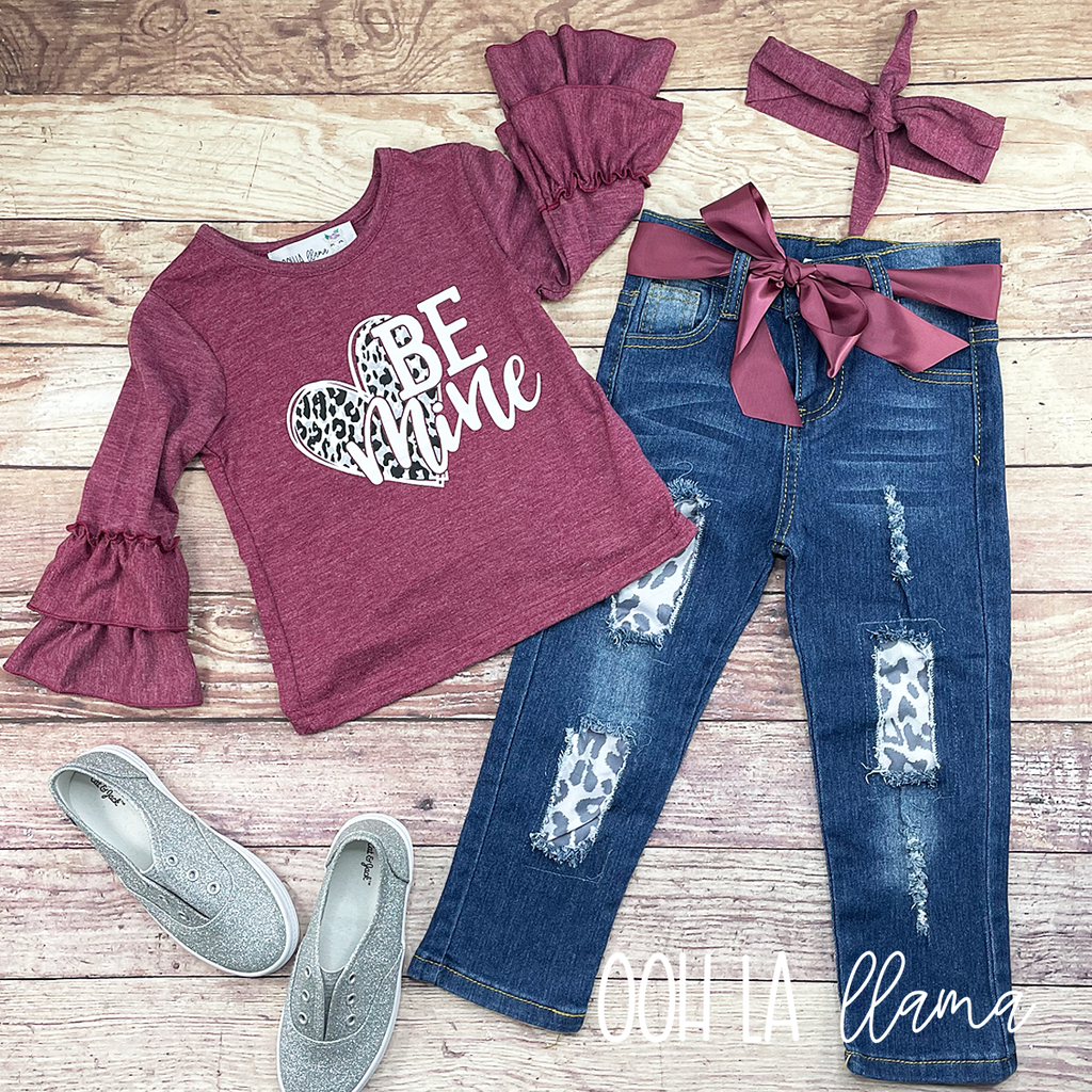 Be Mine Denim Set