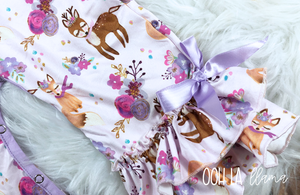 Winter Woodland Infant Romper