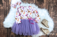 Winter Woodland Tutu Dress