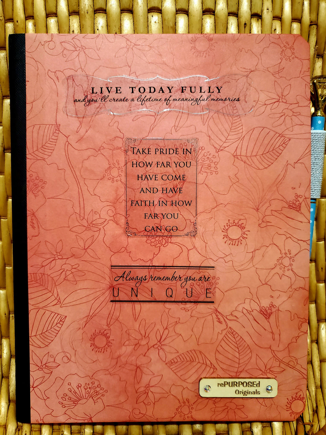LIVE TODAY FULLY NOTEBOOK & Encouragement Card Insert
