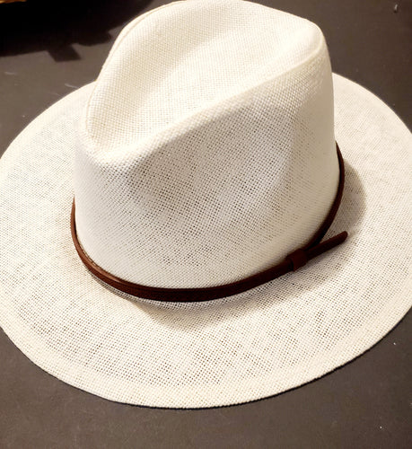 Cross Stitch Fedora Hat