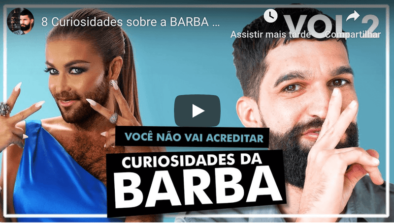 Barba do Messi x Cristiano Ronaldo