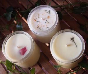 Sweet Grapefruit & Mint Scented Candle