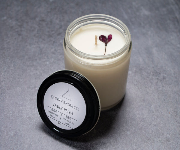Dark Plum Soy Candle