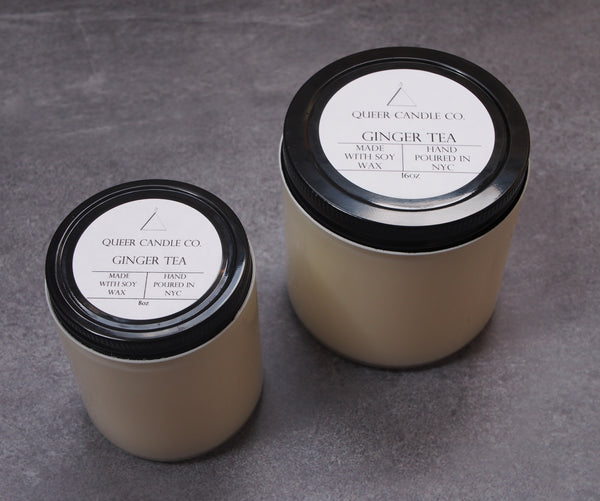 Ginger Tea Soy Candle