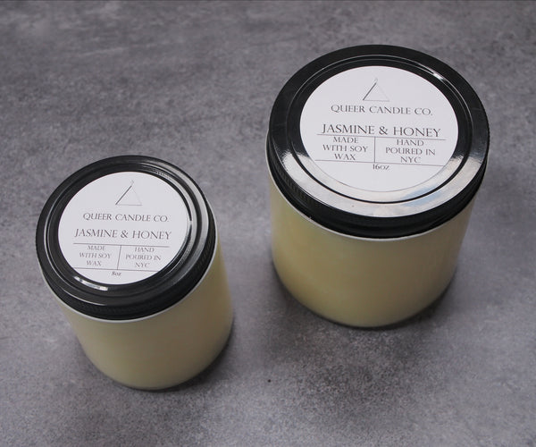Jasmine & Honey Soy Candle