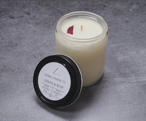 Lemon & Rose Soy Candle