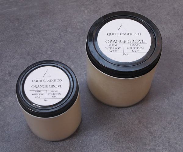 Orange Grove Soy Candle