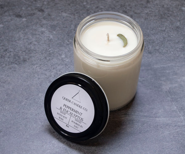 Peppermint & Eucalyptus Soy Candle