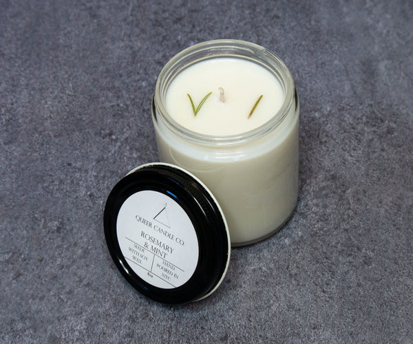 Rosemary & Mint Soy Candle