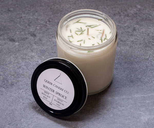 Winter Spruce Soy Candle