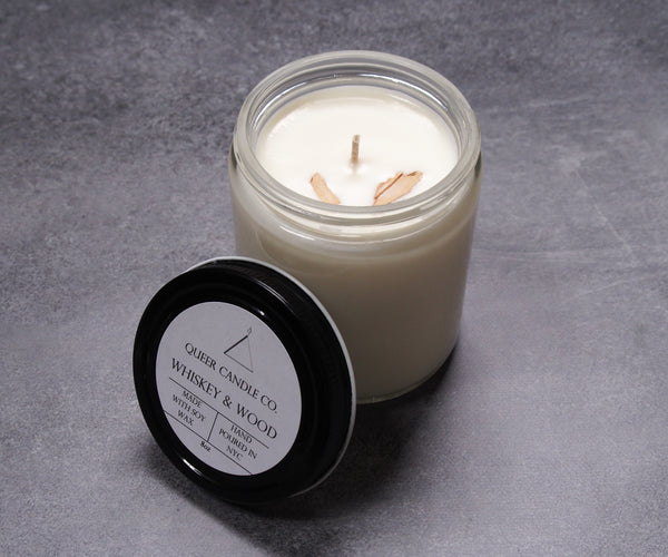 Whiskey & Wood Soy Candle