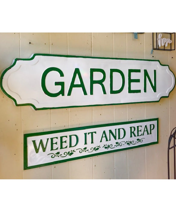 "Weed It & Reap Sign - 36"" Wide"