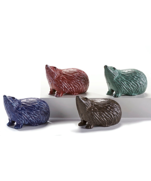 Iron Hedgehog Key Boxes, 4 Assorted
