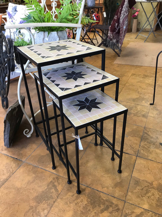 Mosaic Tables/Plant Stands
