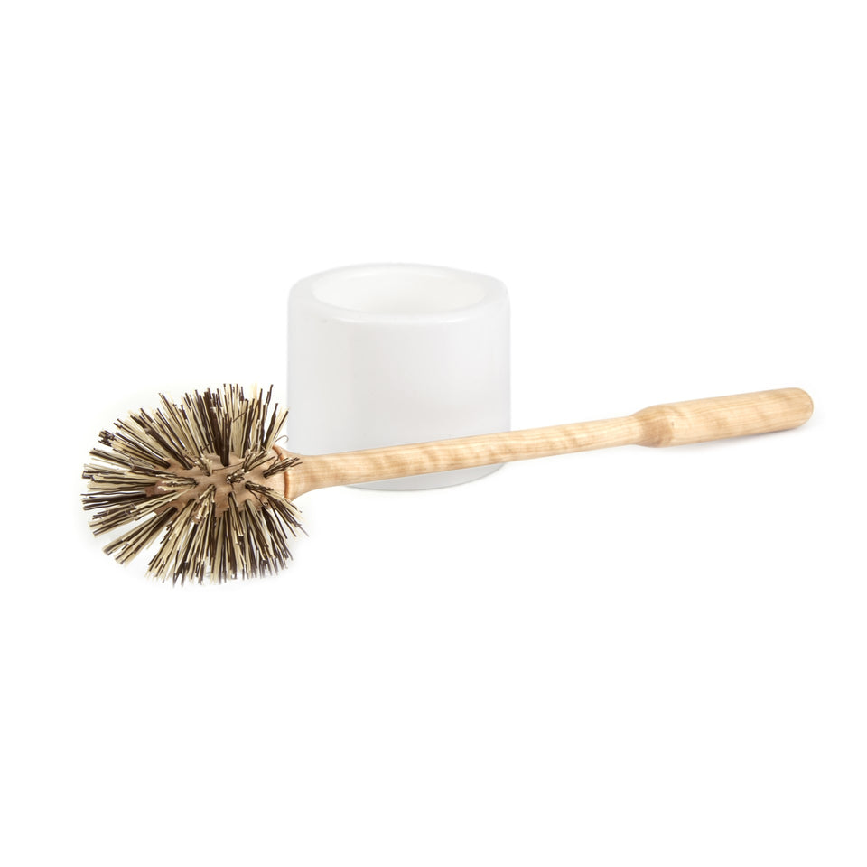 Iris Hantverk Toilet Brush - White Cup