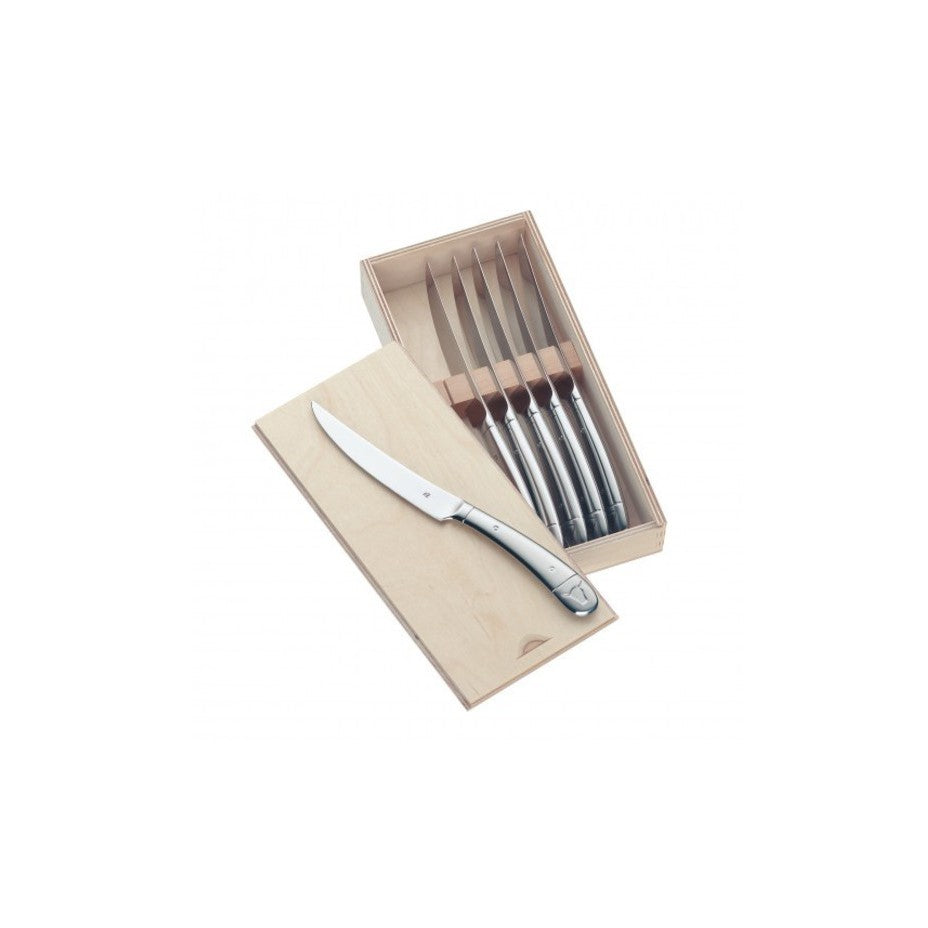 Bulls Head Steak Knives - 6pc