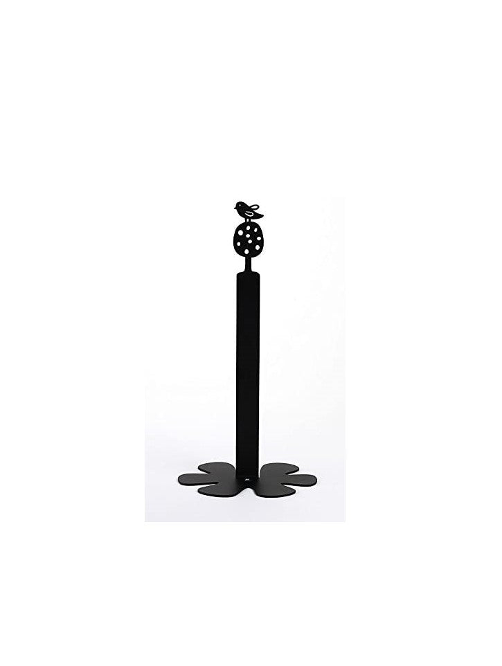 Kitchen Paper Roll Holder - Bird black