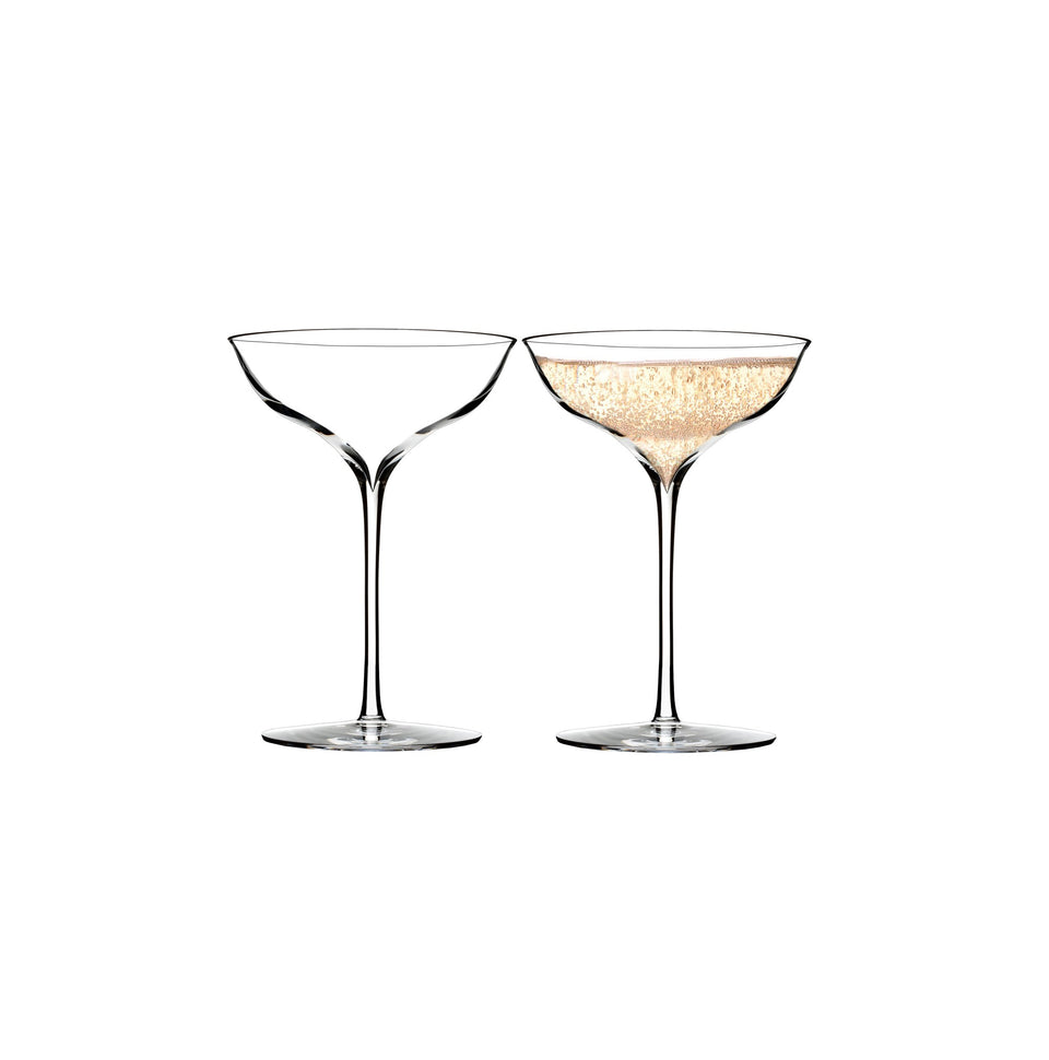 Waterford Crystal Belle Coupe Pair