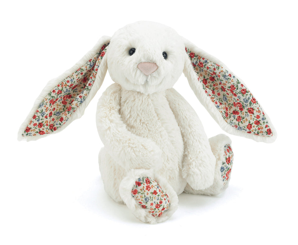 Jellycat Blossom Bashful Cream Bunny - Medium
