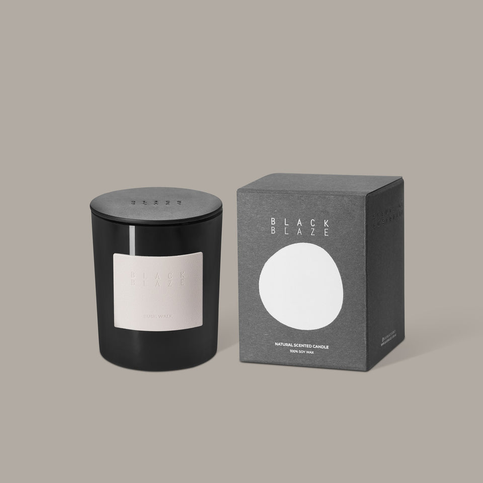 Black Blaze Bush Walk Scented Candle