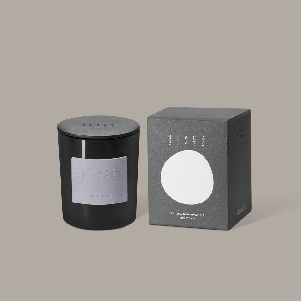 Black Blaze Bondi Breeze Scented Candle