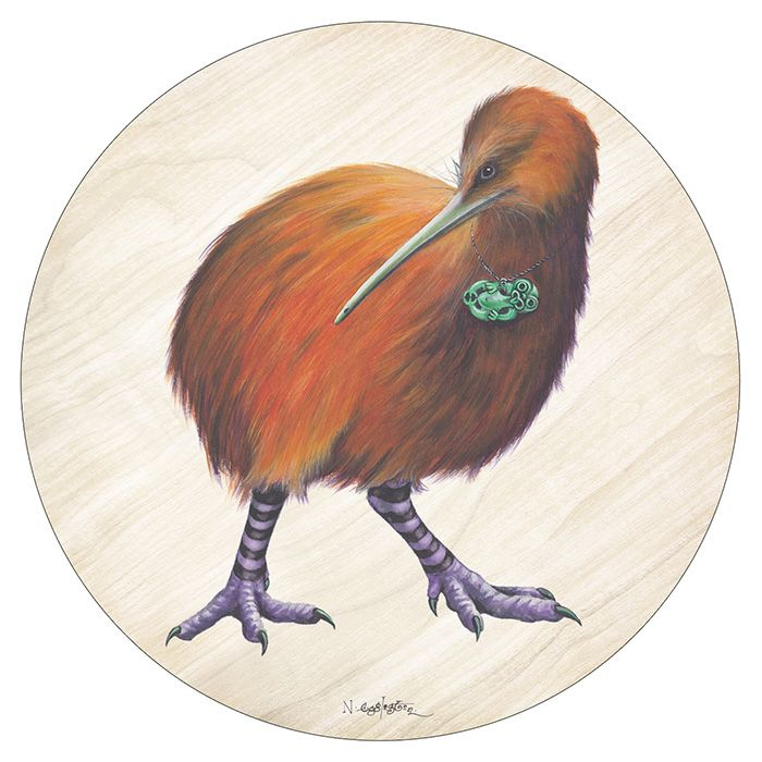 Pikitia Coaster - The South Island Ginger Kiwi