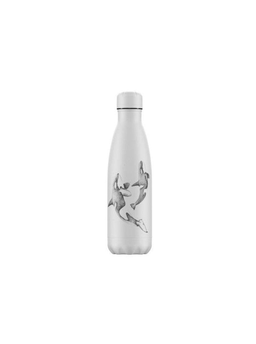 Insulated Bottle White Orca - 500ml