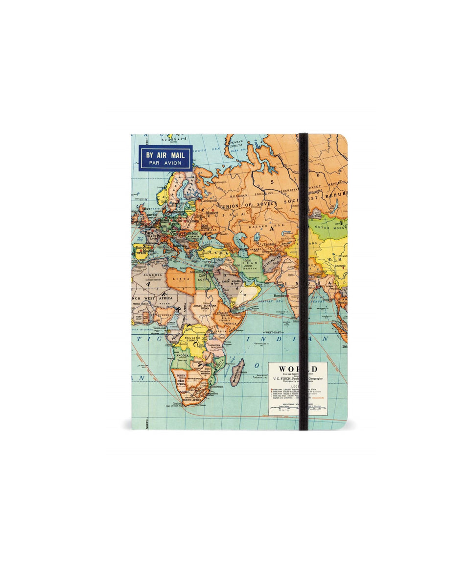 Cavallini & Co. World Notebook - Large