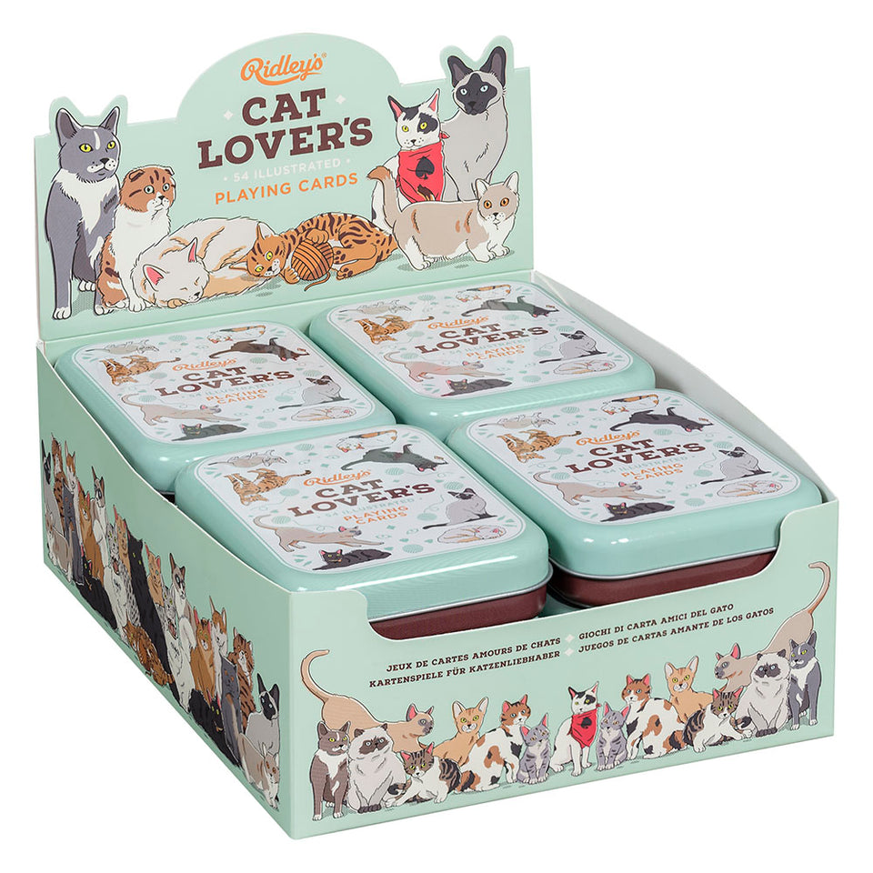 Cat Lovers Playing Cards CDU