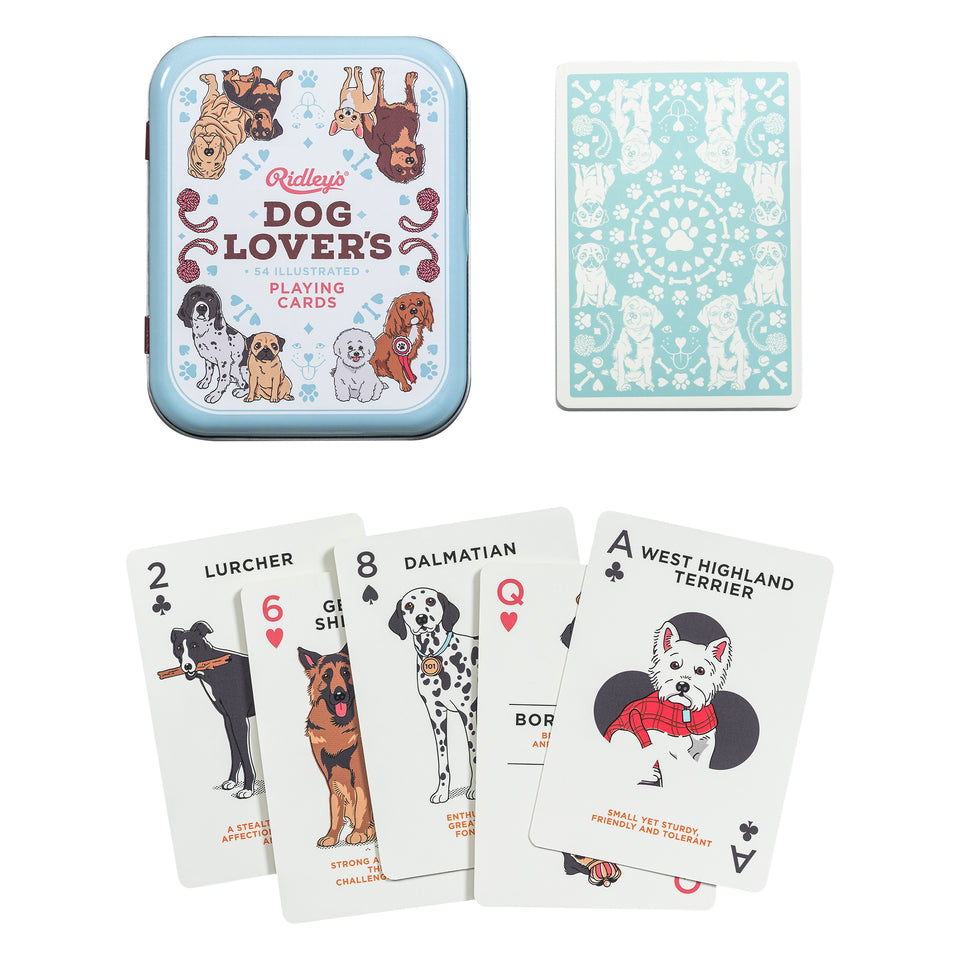 Dog Lovers Playing Cards CDU