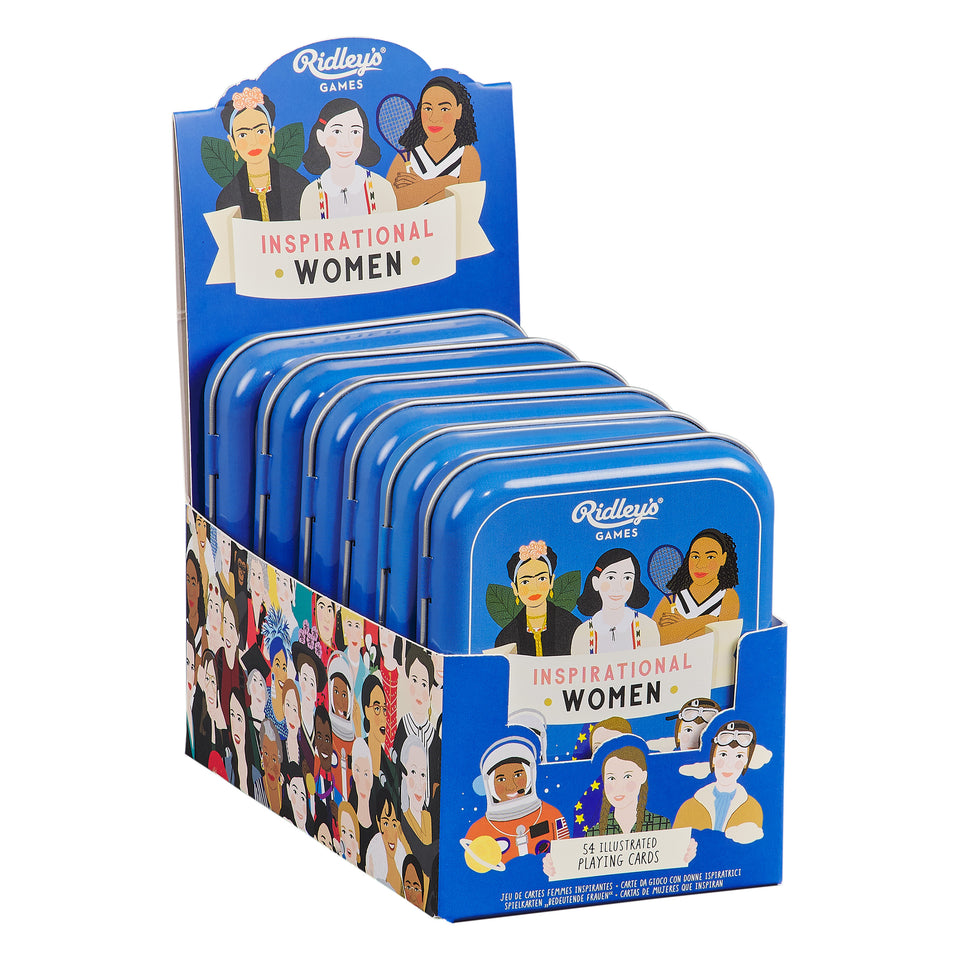 Inspirational Women Playing Cards CDU
