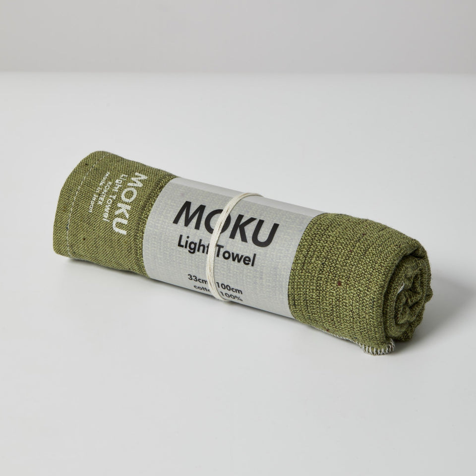 Kontex Moku Medium Sports Towel - Green