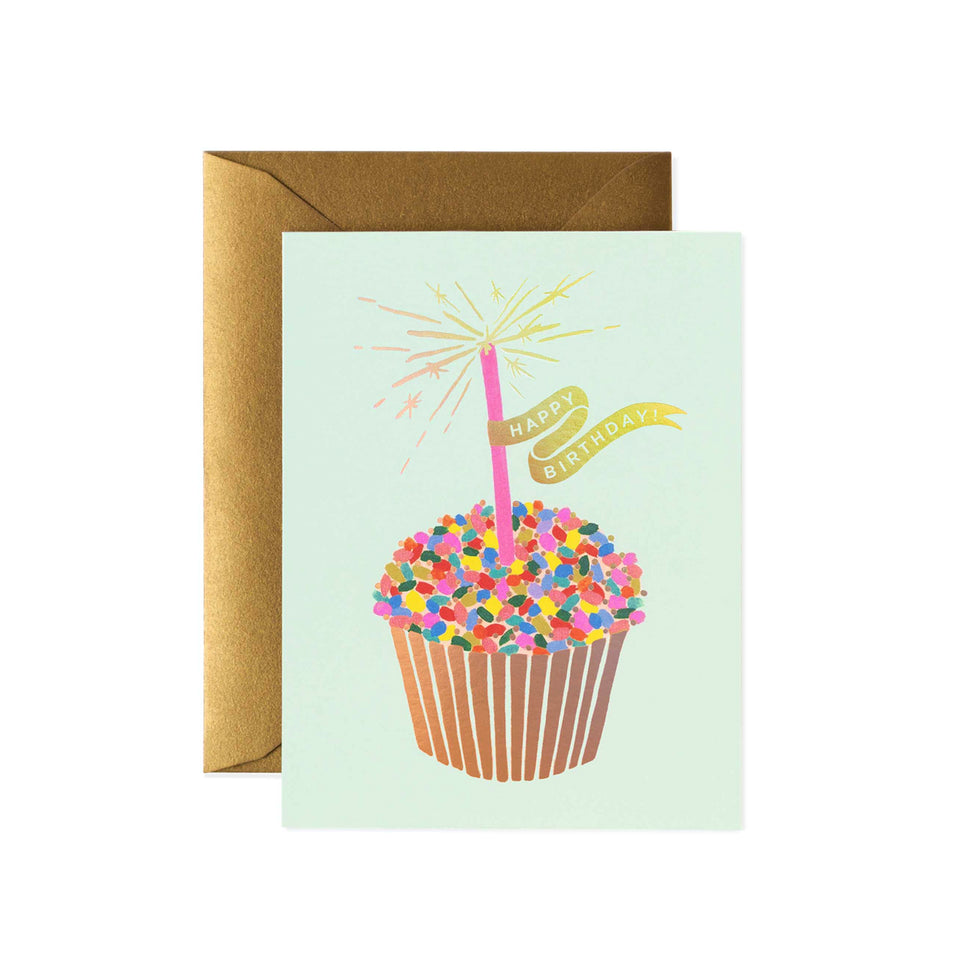 Single Card - Cupcake Birthday