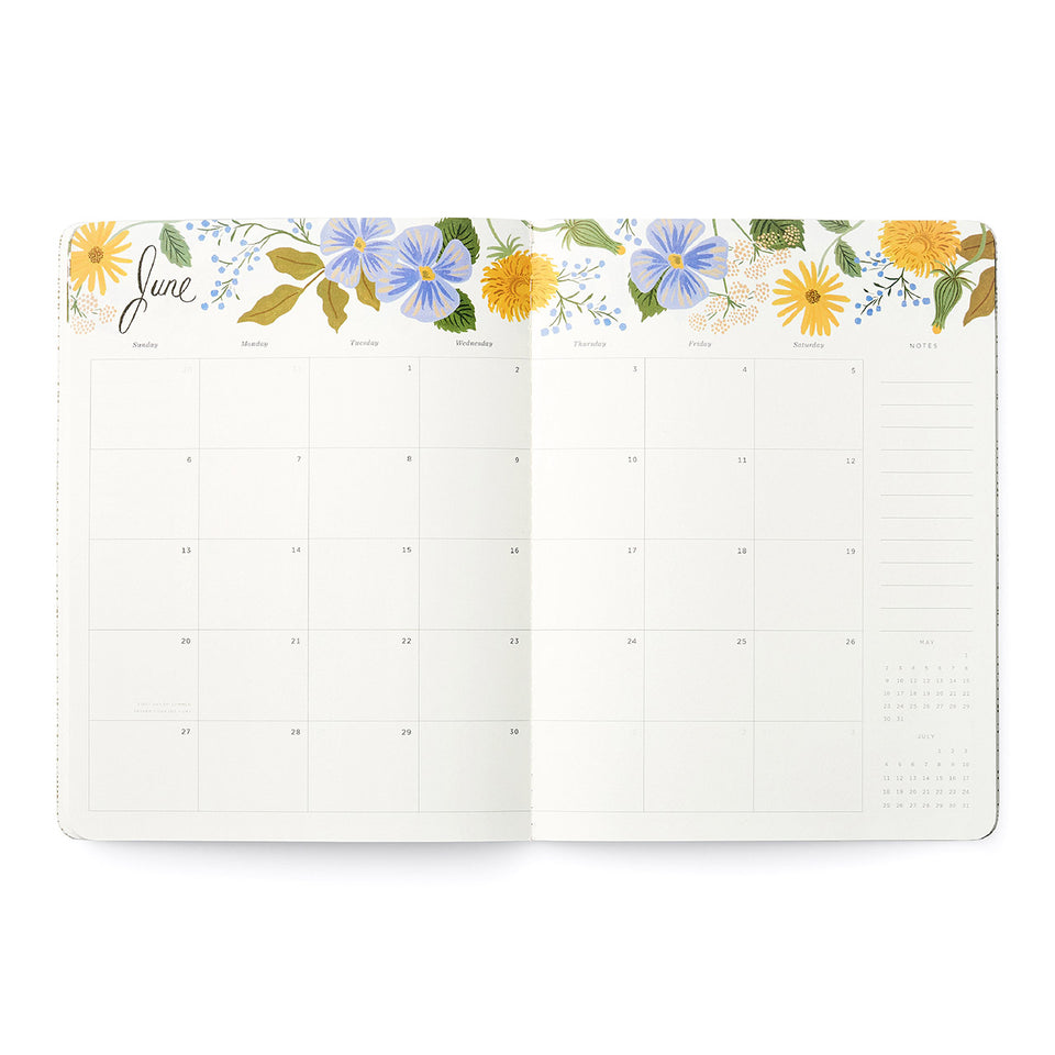 2021 Appointment Notebook - Wild Garden