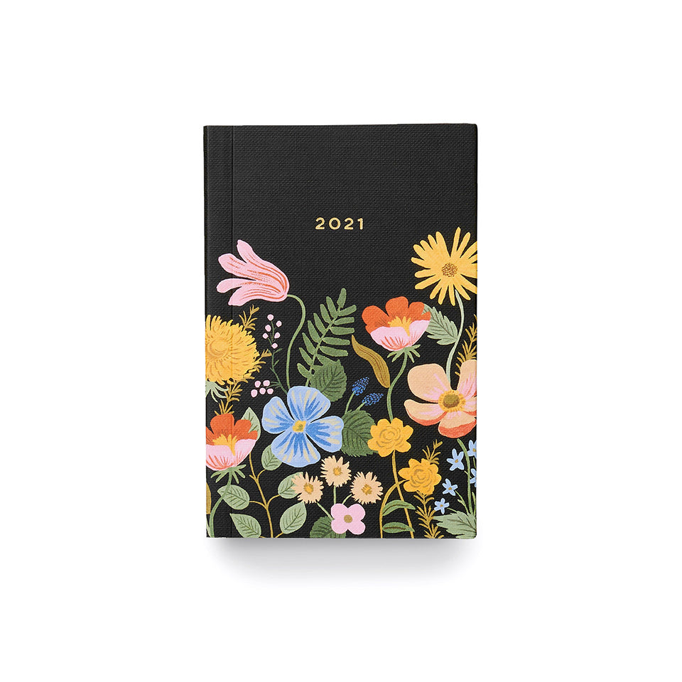2021 Pocket Agenda Planner - Strawberry Fields