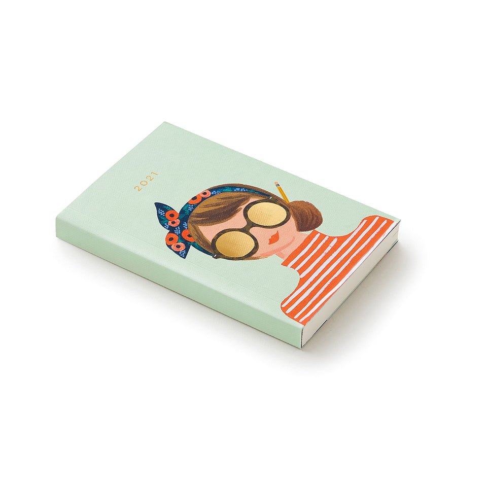 2021 Pocket Agenda Planner - Sunglasses Girl
