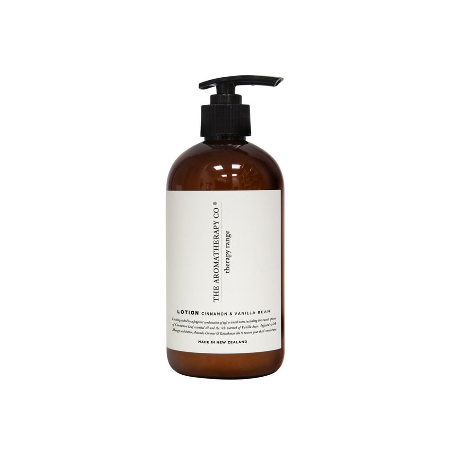 Therapy Hand and Body Lotion - 500ml Cinnamon & Vanilla Bean