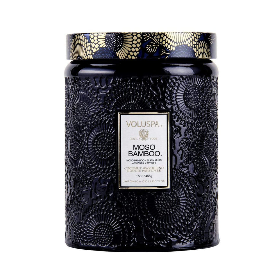 Moso Bamboo Candle - 100hr