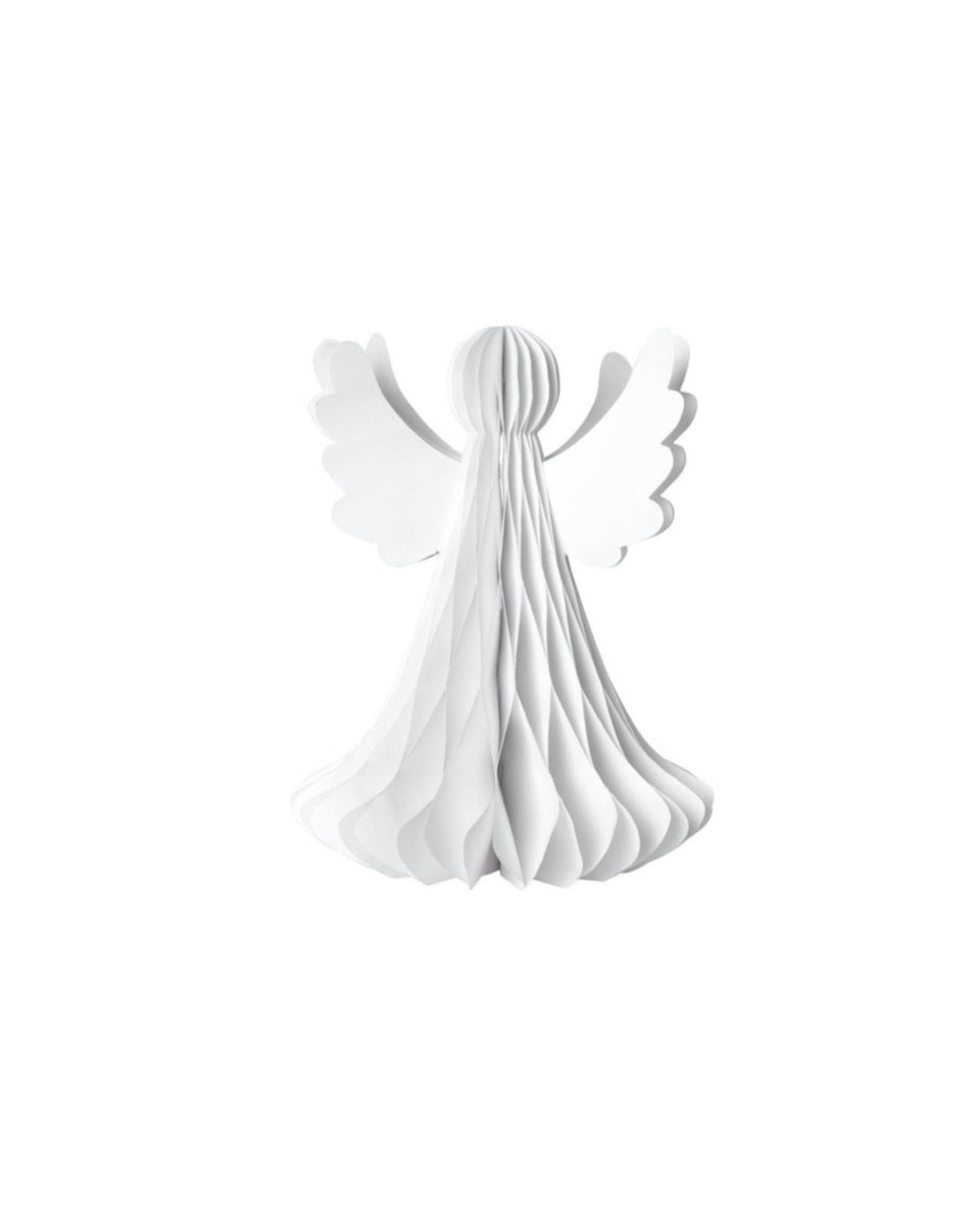 Paper Work Angel - White