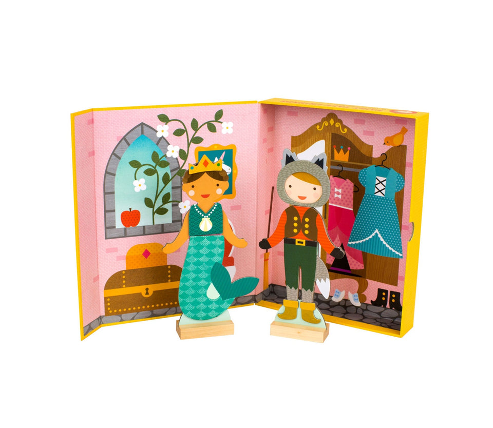 Fairy Tale Friends Magnetic Dress-Up